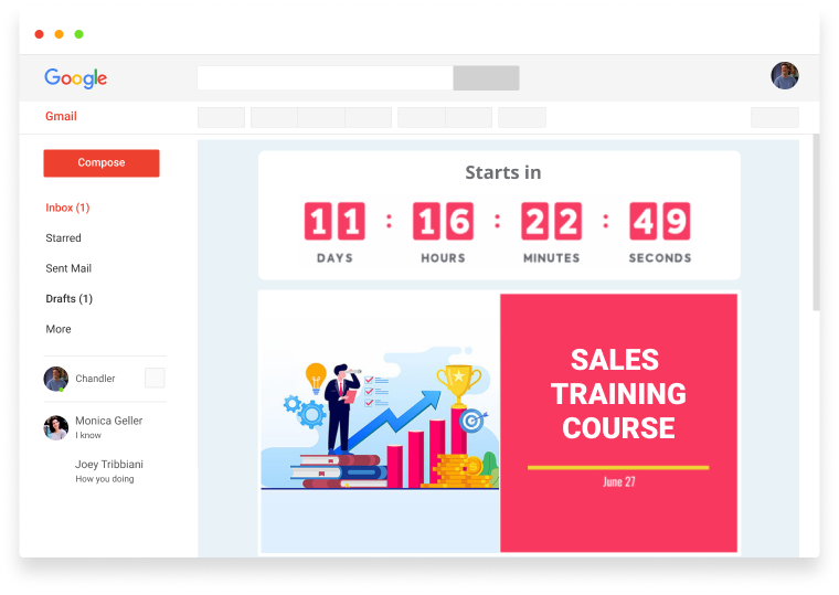 email training course